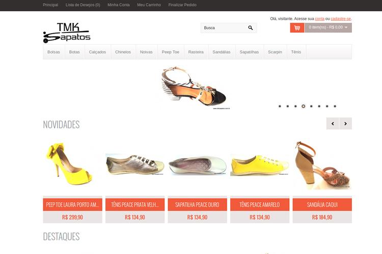Loja TMK Sapatos
