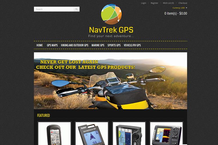 Loja Nav Trek GPS