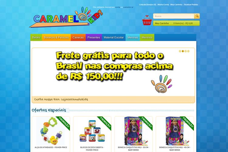 Loja Caramelo Kids